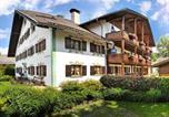 Location vacances Ettal - Gästehaus Enzianhof Hotel Garni-1