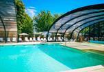 Camping avec Piscine couverte / chauffée Landes - Camping Landes Azur-3