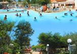 Camping avec Site nature Rochegude - Camping Les Cigales-4