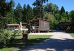 Camping avec Hébergements insolites Villard-Saint-Sauveur - Camping La Pourvoirie des Ellandes-4