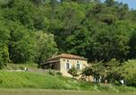 Location vacances Mazeyrolles - Vintage Holiday Home in Villefranche-du-Perigord with Sauna-2