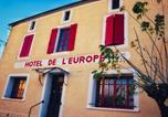 Hôtel Lot et Garonne - Hôtel de l'E u r o p e-1