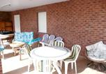 Location vacances  Pas-de-Calais - Studio in Berck with furnished garden and Wifi 1 km from the beach-4