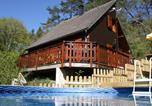 Location vacances Arches - Pretty Chalet in Beaulieu France With Private Swimming Pool-2