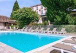 Hôtel Le Pin - Hôtel Vacances Bleues Les Jardins de Deauville-1