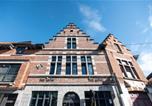 Hôtel Tournai - La camuche de Rene Desclee, duplex neuf de 75 m2 avec une grande terrasse au sud et au calme - Les Camuches, apparts-hôtel au centre de Tournai-3
