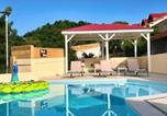 Location vacances  Guadeloupe - Beautiful suite S4, pool, sea view, Pinel Island-4