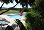 Location vacances Le Pizou - Villa with 4 bedrooms in Saint Remy with wonderful city view private pool and enclosed garden-1