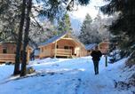 Camping  Acceptant les animaux Savoie - Les Chalets Huttopia de Bozel-1
