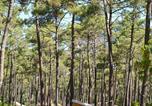 Camping avec Site nature Gironde - Huttopia Lac de Carcans-2