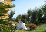 Location vacances Montagnareale - Luxury villa near the beach with wonderful view of Aeolian Island-4