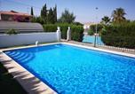 Location vacances Dolores - Villa Alicante La Marina Oasis piscine et tennis privé-3