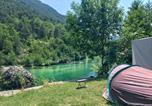 Camping avec Site nature Saint-Urcize - Huttopia Gorges du Tarn-3