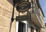 Hôtel Poujols - Chambres d'hôtes de l'Union-2