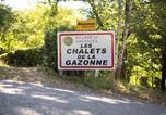 Villages vacances Aveyron - Les Chalets de la Gazonne-1