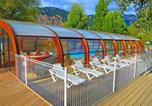 Camping avec Hébergements insolites Drôme - Camping le Lac Bleu-4