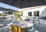 Hôtel Trélazé - Brit Hotel Angers Parc Expo - L'Acropole-3