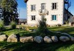 Location vacances Brommat - House with 7 bedrooms in Montsalvy with enclosed garden and Wifi 55 km from the slopes-1