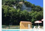 Camping avec Piscine couverte / chauffée La Roque-Gageac - Camping Le Moulin de Caudon-3