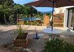 Location vacances Pertuis - Maison d'hôtes les Jardinettes en Luberon-1