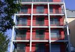 Hôtel Francfort-sur-le-Main - Jugendherberge Frankfurt - Haus der Jugend-1