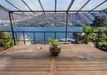 Location vacances Schignano - Villa Donati with access to the lake-4