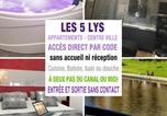 Location vacances Carcassonne - Apartments Les 5 Lys - Quartier La Bastide-3