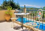 Location vacances Βάμος - Villa Koumos Heated Pool and Great Views-1