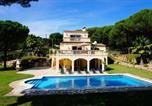 Location vacances Santa Cristina d'Aro - Bell-Lloch Villa Sleeps 8 Pool Wifi-1