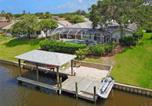 Location vacances Palm Coast - Palm Paradise, 3 Bedrooms, Canal View, Private Pool, Boat Dock, Sleeps 8-4