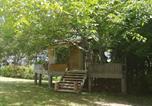 Location vacances Génissac - Cabane en bois climatisée-1
