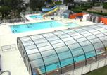 Camping avec Parc aquatique / toboggans Bretagne - Camping Les Jardins de Kergal-4