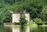Camping en Bord de rivière Limousin - Château du Gibanel-1