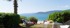 Campings avec accès direct plage